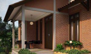 model desain teras rumah